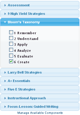 My Lesson Planner | Writing Your Lesson Plans – Support