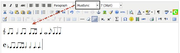 music-font